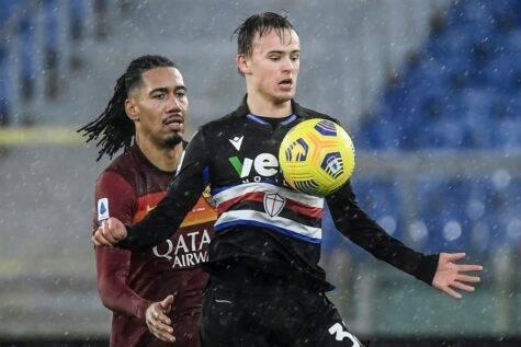 Serie A, vittoria dello Spezia nel primo derby storico contro la Sampdoria