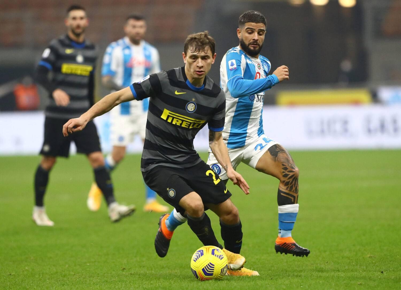 Da Barella a Insigne: le formazioni ufficiali di Napoli-Inter