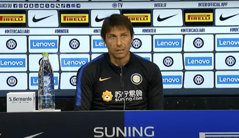 Inter-Cagliari, le parole di Conte in conferenza